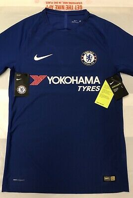 hot sales 2e61c c8425 NIIKE AEROSWIFT CHELSEA FC 2017/18 VAPOR MATCH Jersey Football Training Top  SML