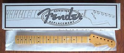 "Fender® Vintage-Style '50s Stratocaster® Soft ""V"" Neck~One Piece Maple~Brand New"