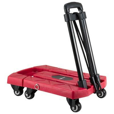 Ollieroo Cart Compact Personal Folding Hand Truck Luggage with 6 Wheels and...