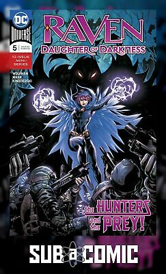 RAVEN DAUGHTER OF DARKNESS #5 (DC 2018 1st Print) COMIC