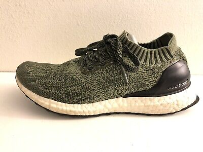 adidas Ultra Boost Uncaged M Bb3901 Tech Earth Base Green Olive Men s Size  6.5 74581ecab6