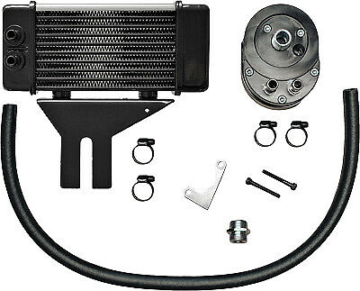 Jagg Oil Coolers Horizontal 10 Row Oil Cooler 750-2580 Chrome