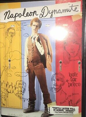 Napoleon Dynamite (DVD, 2004, Both Full Frame/Widescreen Versions)
