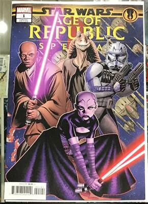 Star Wars Age of Republic Special #1 Puzzle Variant - 2019 Unread 1st Print NM