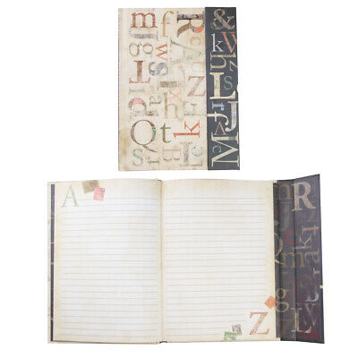 """2pk Hardcover 8x6"""" Journal with Magnetic Flap Notebook Writing School Supplies"""