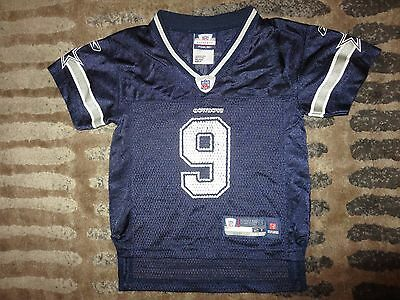 TONY ROMO DALLAS Cowboys Nike TODDLER Game NFL Jersey   2T 48a291ddb