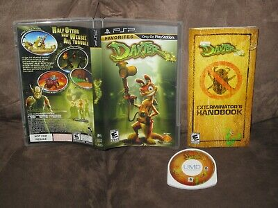 PSP Game - Daxter - Complete (with CFW Info)