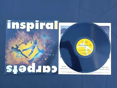Inspiral Carpets Life Vinyl LP Album Record Embossed Dung 8 Play Tested
