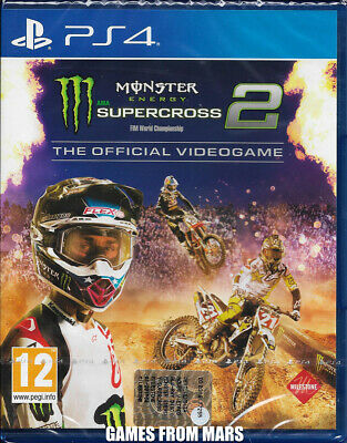 Monster Energy Supercross The Official Videogame 2 Ps4 Nuovo Italiano