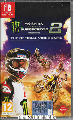 Monster Energy Supercross The Official Videogame 2 Nintendo Switch Nuovo Ita