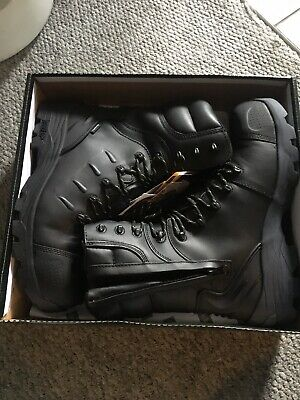 Rock Fall Monzonite Leather S3 Composite Metatarsal Protection Safety Boot 6-12