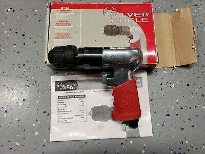 "New Matco Tools Silver Eagle 3/8"" Reversible Keyless Air Drill SE144"