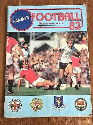 Album figurine Panini FOOTBALL 82 COMPLETE sticker England cromos foot soccer uk