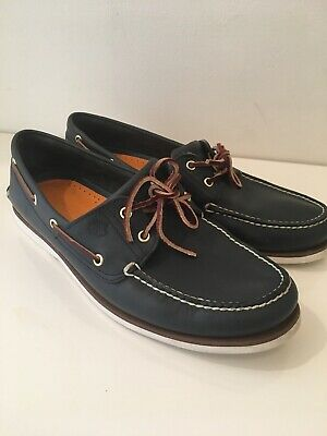 san francisco best prices performance sportswear TIMBERLAND EARTHKEEPERS HERITAGE 2 Eye Boat Shoes Navy Smart ...