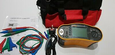 Fluke 1653B Multifunction Tester 18th Edition Brilliant Condition 12 Months Cal