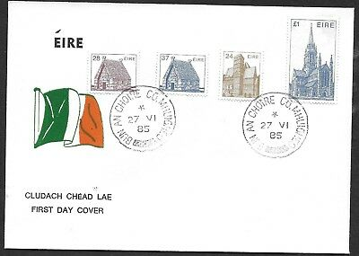 1985    FDC        ARCHITECTURE DEFINITIVES  27/5/85        'Flag'