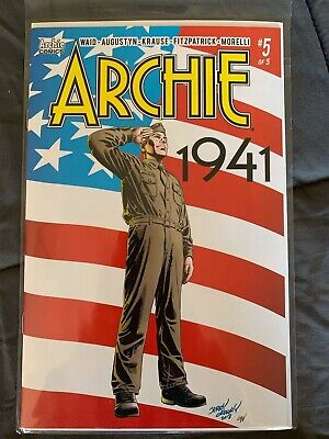 ARCHIE 1941 5 variant Waid Ordway Krause Archie Comics 2019