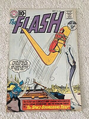 """The Flash #124 - 2Nd Appearance Captain Boomerang - """"The Space Boomerang Trap"""""""