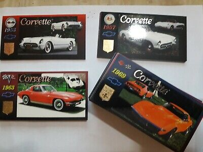 Chevrolet Corvette Heritage Collection full set of 90 cards the n°2 missing