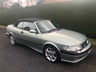 SAAB 9-3 CONVERTIBLE TURBO - 2.0T SE - Auto - 2002 - Spares or Repairs