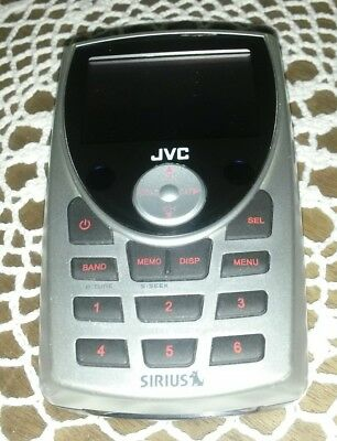 ACTIVATED EUC JVC KT-SR2000 SIRIUS RECEIVER AND CAR VEHICLE KIT  Sweet