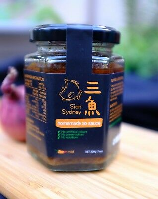 [Sian Sydney] - Mild Spicy XO Sauce - marking you a Chinese cooking expert