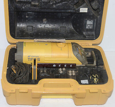 Topcon Pipe Laser Model TP-L5B Red Beam