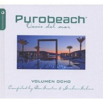 Purobeach Volumen Ocho 2 Cd 27 Tracks New! ++++++++++++++++++++