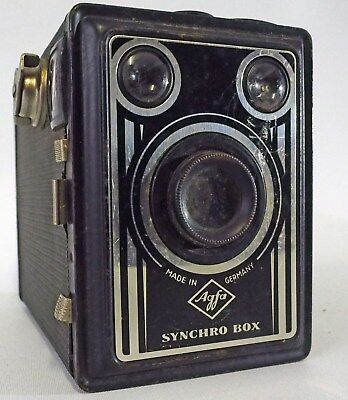 """ANSCO """"SYNCRO BOX""""  made in Germany cc 1950s"""