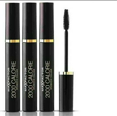 Mascara 3x Max Factor 2000 Calorie Mascara Dramatic Volume Black/Brown