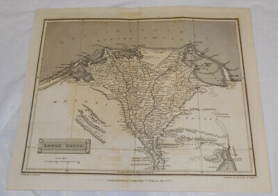 1828 Antique Map///LOWER EGYPT