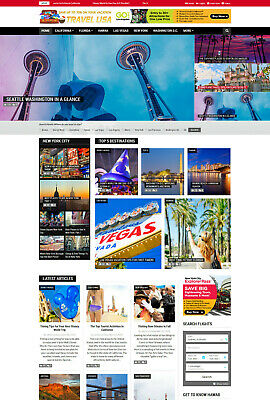 USA Travel & Vacation Hotels Flights Bookings Affiliate website