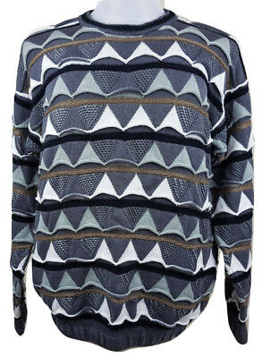 COOGI Vintage Biggie Crosby Jumper Sweater Knit - Made in Australia - XL