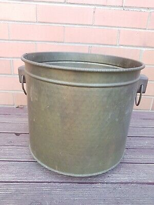 Vintage COPPER Hammered Pot for Home Garden