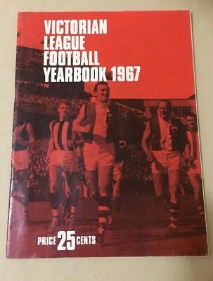 VFL League Football Yearbook 1967