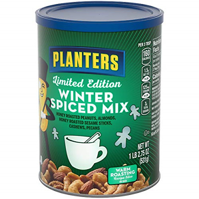 PLANTERS PECANS, ROASTED & Salted, 7.25 Ounce Canister - $8.03 ... on