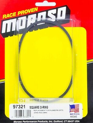 Moroso 97321 Oil Filter Bypass O-Ring Bypass Plates Square - Sold Individually