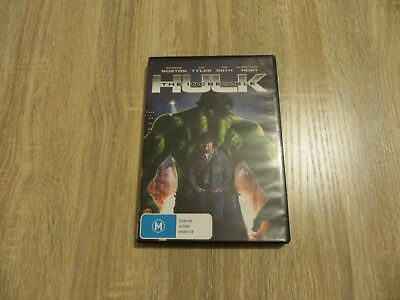 The Incredible Hulk - Marvel Comics - 2008 - Region 4 DVD