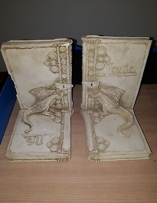dragon bookends Logic Life collectable