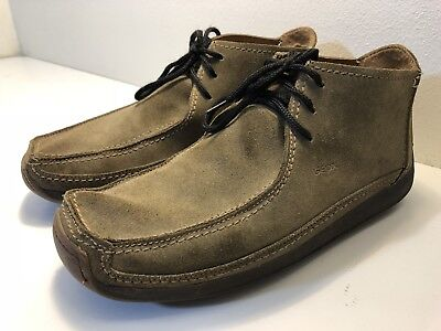 79d3cecb1c Men's GEOX Respira Suede Moccasins style shoes High size 9.5 US 42.5 EUR