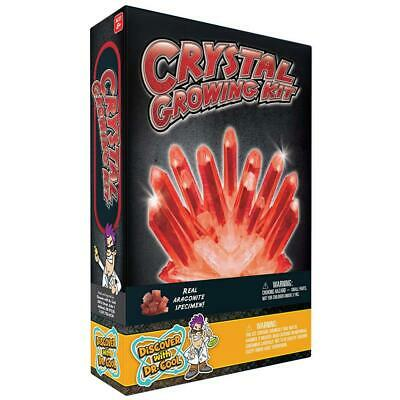 Discover with Dr. Cool Crystal Growing Kit, Red Aragonite