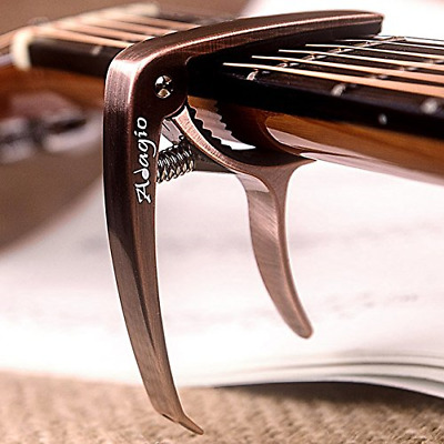 Adagio Pro DELUXE CAPO Suitable For Acoustic & Electric Guitars With Quick