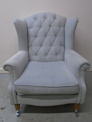 Laura Ashley Southwold Armchair in Anneliese Seaspray - QA0602190510