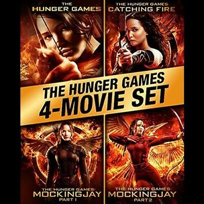 The Hunger Games : complete 4 film collection ( Digital Movie Code )