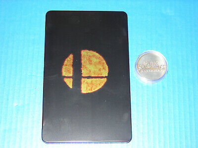 Super Smash Bros Ultimate Limited Edition Steelbook Case and Coin *No Game*