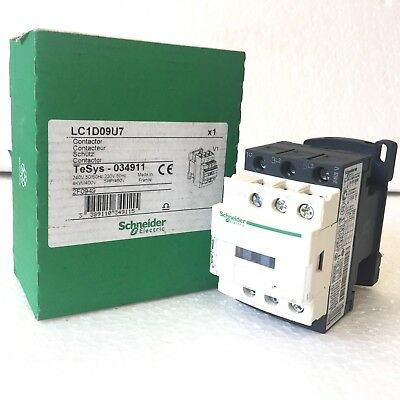 1x LC1D09U7 SCHNEIDER Contactor LC1D09 New Old Stock