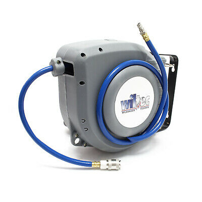 Air Line Hose Reel compressor Workshop Garage compressed air retractable 9m