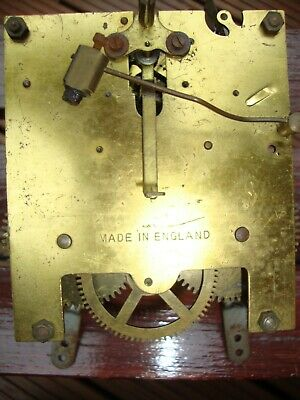 English Mantle Clock Movement for Spare Parts