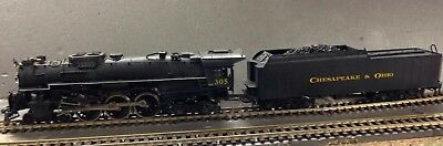 C&O Chesapeake & Ohio  EH109 4-6-4 # 305   - Brass  by GEM   HO scale -