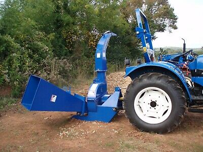 Wood chipper for compact tractors made by Landlegend Ex Display 10""